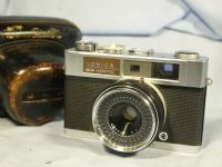 '  EE MATIC -NICE SET- ' Konica EE MATIC Rangefinder Camera Cased -NICE SET- £14.99